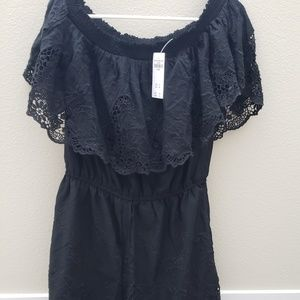 Abercrombie & Fitch off shoulder romper